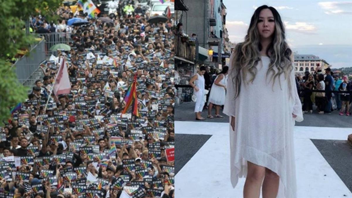 同性可結婚登記!4萬人相擁 阿妹淚:彩虹完整了