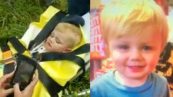 1歲男童失蹤3天 困山崖奇蹟生還