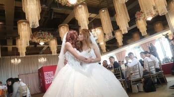同婚專法通過!首場婚姻平權公開婚禮登場