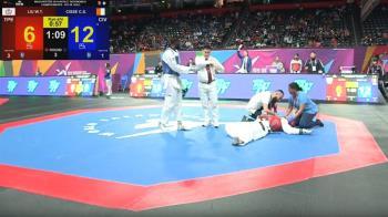 對手犯規揮拳打昏 劉威廷送醫世錦賽8強止步
