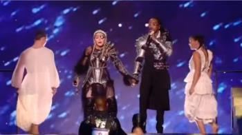 瑪丹娜歐洲歌唱大賽惹議!凸顯以巴議題獲喝采
