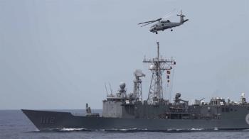 22機22艦東部海域實彈射擊 近年最大海上操演