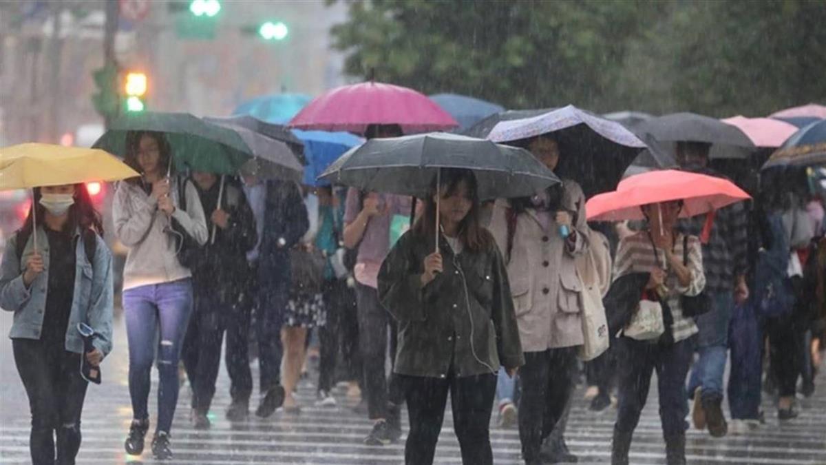 8縣市大雨特報!新竹以南注意雷擊、溪水暴漲