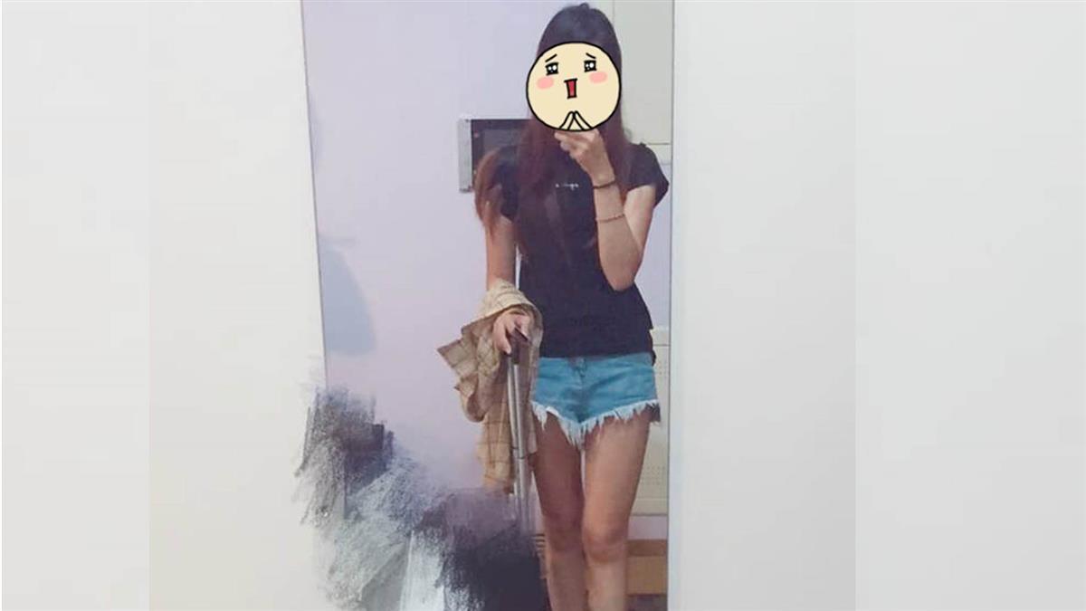 穿熱褲露美腿逛街…正妹遭大媽嗆:一定給她X死