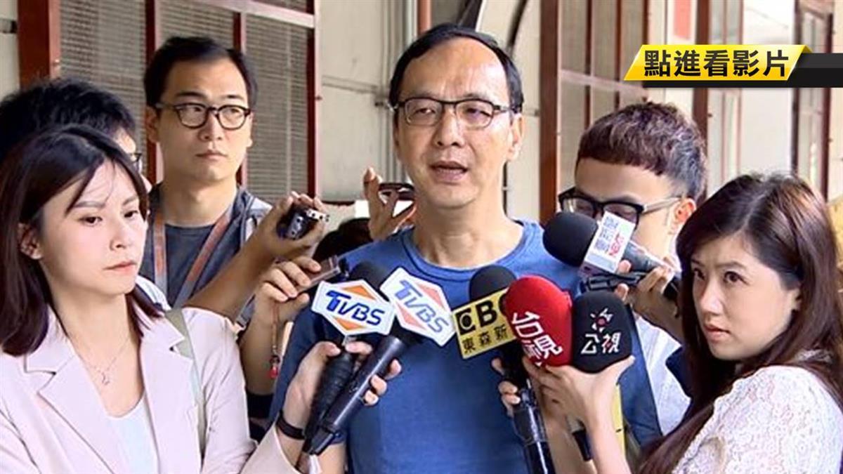 嗆韓政治100分 朱立倫抱屈:嘴不要那麼毒