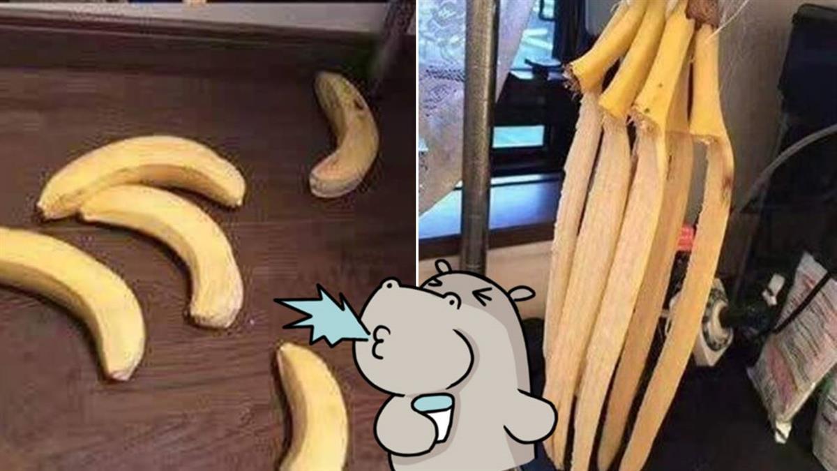 香蕉掛著才壞的慢?她隔天一看…集體跳樓了