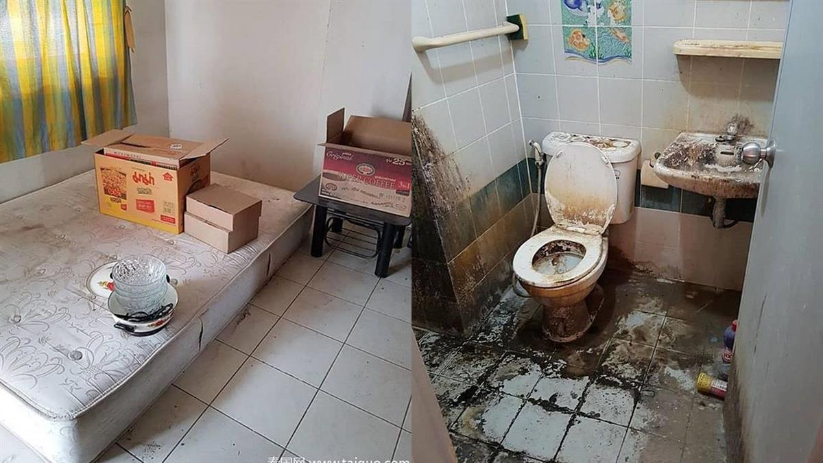 清秀女租屋9年不打掃!黑垢堆積像廢墟 房東看傻