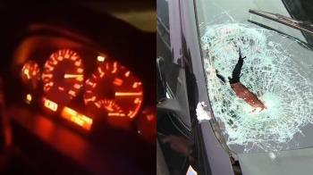 時速飆220km!2男開直播自撞 爬出遭後車輾斃