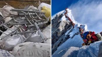 尼泊爾清理聖母峰 找出4具屍體和10公噸垃圾