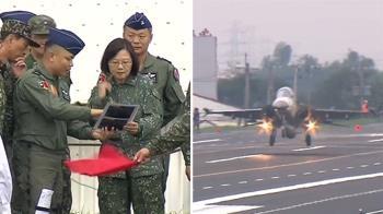 睽違5年!F-16V戰機處女秀 彰化戰備道操演