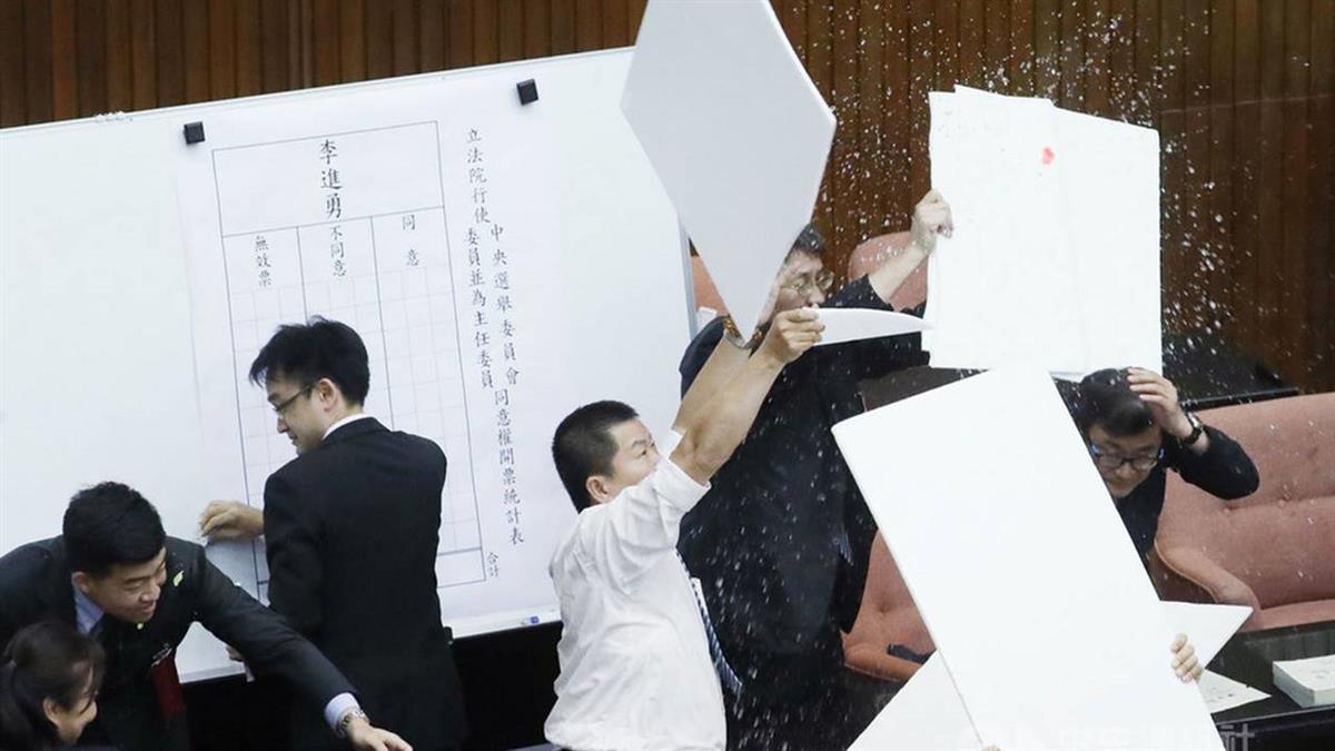 李進勇獲立院同意 出任中選會主委