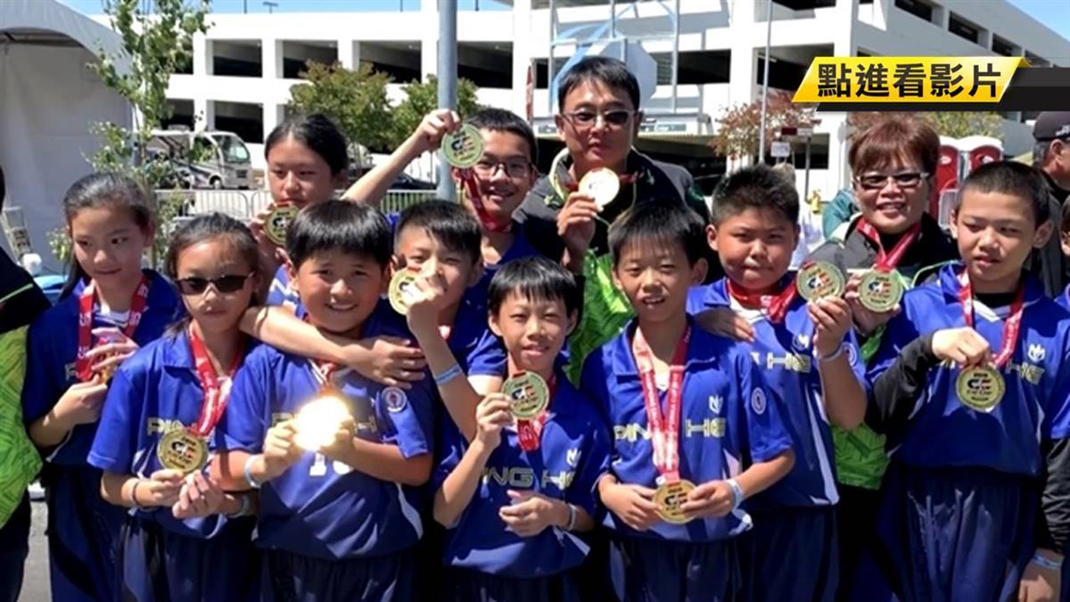 厲害!彰化平和國小世界曲棍球賽 連三年奪冠軍
