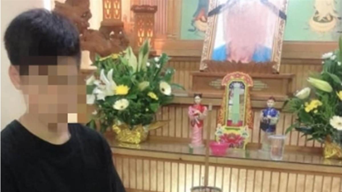 單親爸猝死!14歲兒悲站靈堂前…無錢葬父