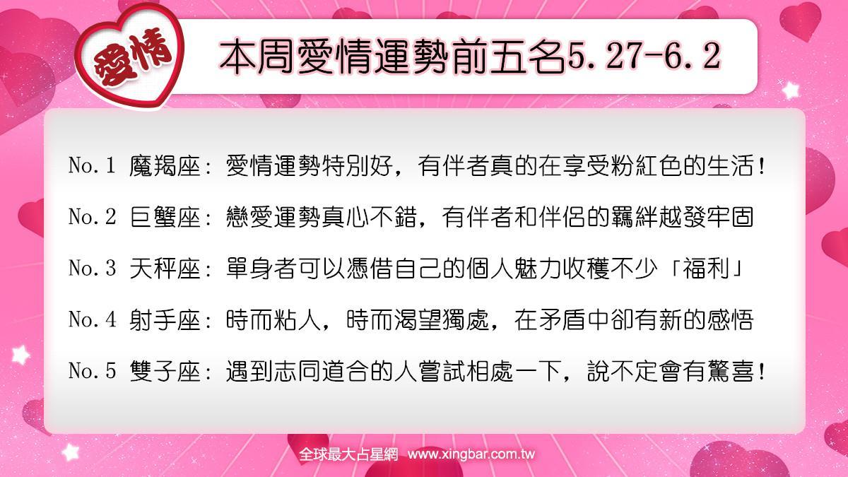 12星座本周愛情吉日吉時(6.3-6.9)