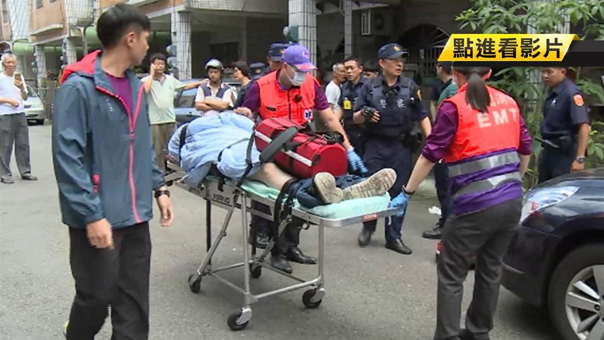 逆子嗆殺母嬤對峙2小時 5警奪刀受傷送醫