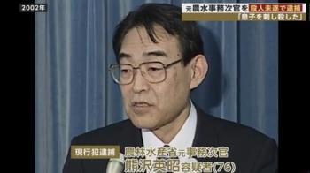 廢宅啃老又暴力!日本前官員持刀殺44歲兒