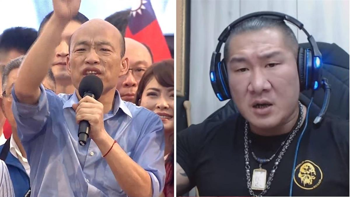 造勢5大扣分!館長砲轟韓國瑜:講不出屁話