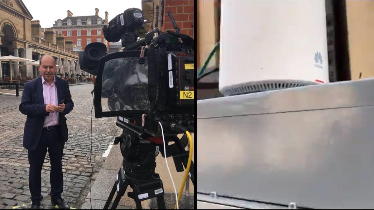 不到1分就斷線!BBC首場5G直播竟是華為設備