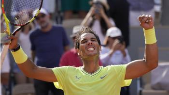 33歲納達爾集滿法網90勝 還這麼能打自己也嚇到