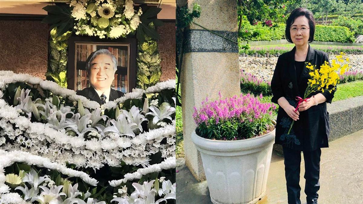 快訊/瓊瑤老公平鑫濤病逝 享壽91歲