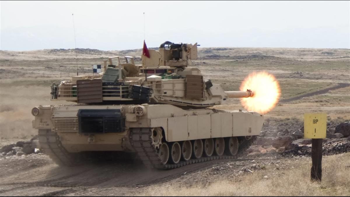 830億軍售成交?傳美售台M1A2地表最強戰車