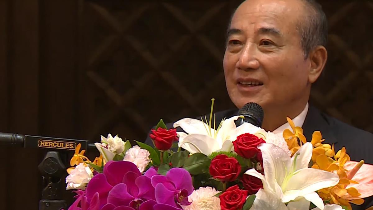 王金平談青年政策 首重經濟與國家安定