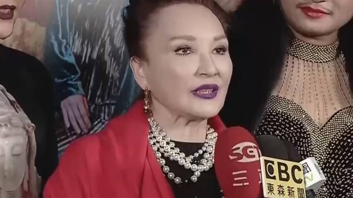 陳莎莉傳被詐1.4億元 驚揭瓊瑤女星4300萬飛了