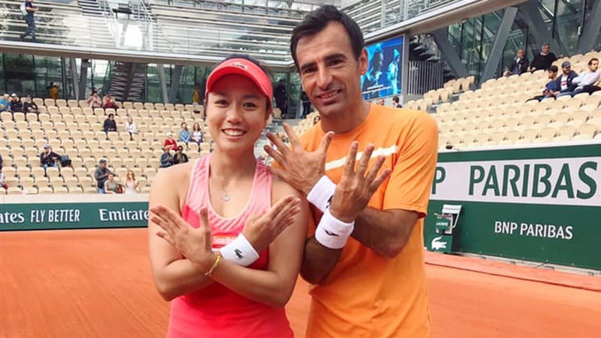法國網球公開賽 詹詠然混雙拿下2連霸