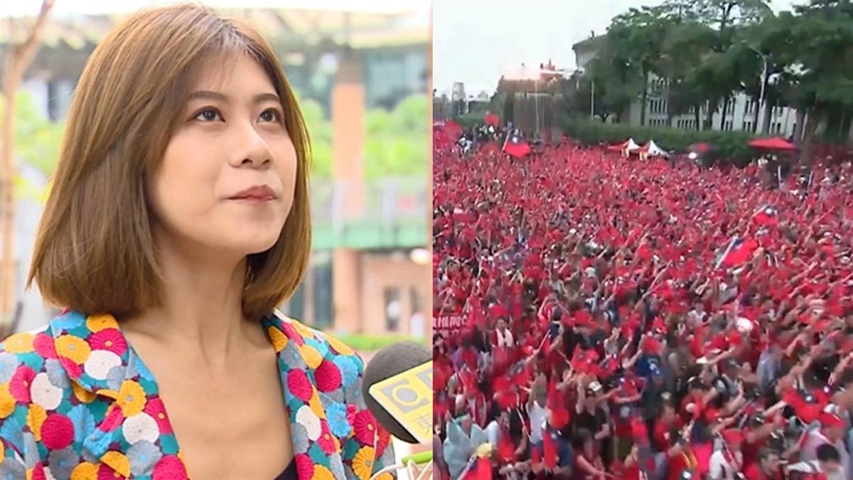酸韓國瑜遭控造假 凱道正妹出面回應了!