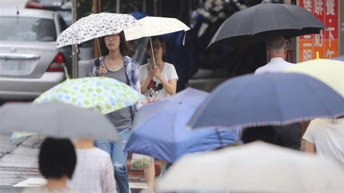 梅雨鋒面降臨!本周全台濕答答 西半部防豪雨