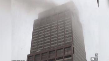 紐約直升機撞高樓駕駛身亡  暫無恐攻跡象