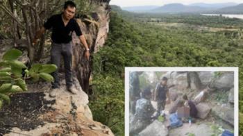 孕婦遊泰國跌下懸崖!獲救淚問夫:為什麼這樣對我