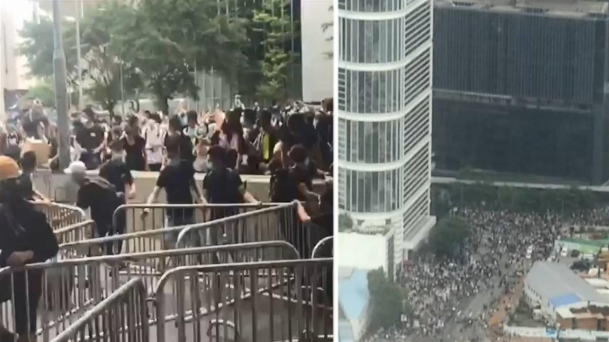 香港立法會開議前急剎車 送中條例二讀宣布延期