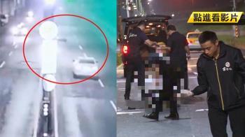 騎士自摔彈對向道 遭18歲男無照駕車輾斃
