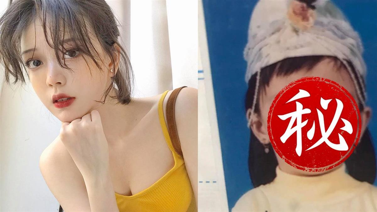 萌眼越南妹甜笑轟動表特 童年照曝光電翻網
