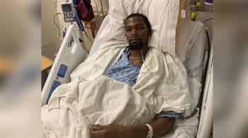 阿基里斯腱受傷 杜蘭特報平安:已完成手術
