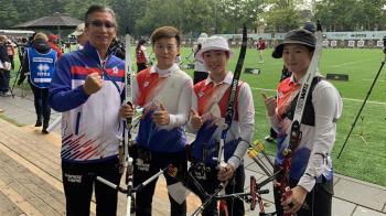 中華反曲弓男女雙進8強 取得滿額東奧參賽門票