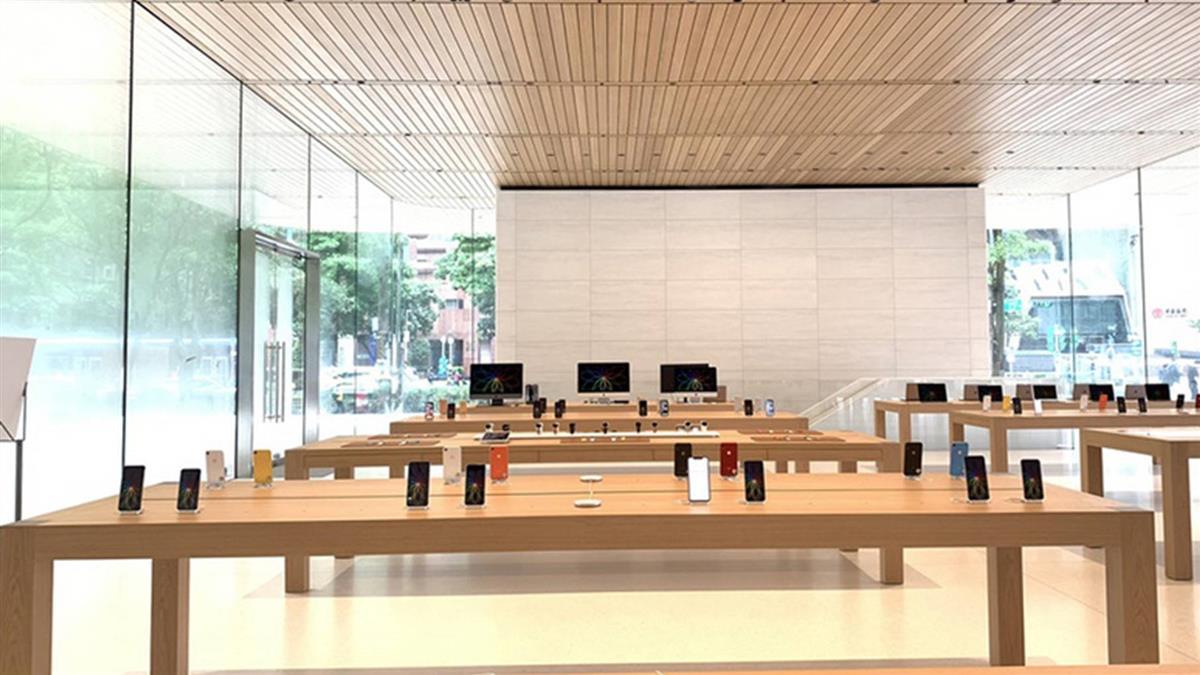 影/蘋果在台開第2家直營店 設計比照總部