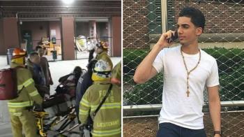 19歲男衝火場救陌生女童 雙雙重傷亡
