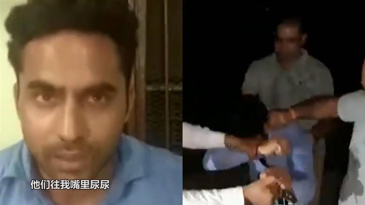 報導火車出軌!記者遭警痛毆 淚訴:尿我嘴裡