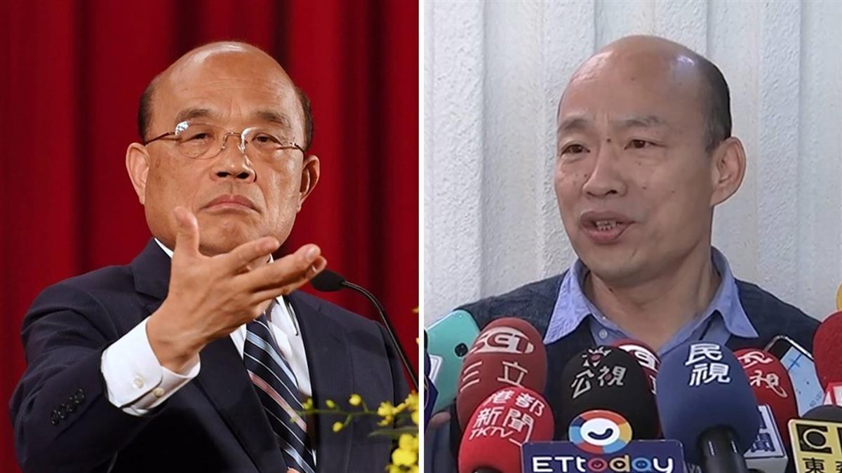 韓國瑜嗆中央卡防疫!政院傻眼:沒公文怎麼撥錢