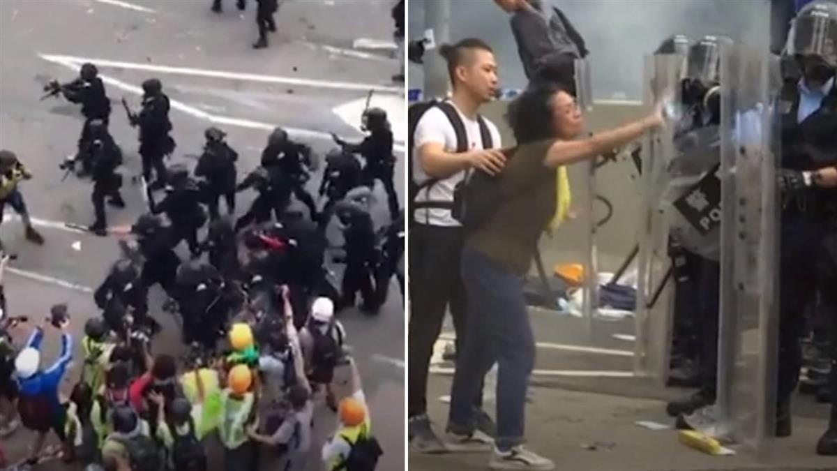 圍毆落單民眾、胡椒劑攻外籍男!612港警執法惹議