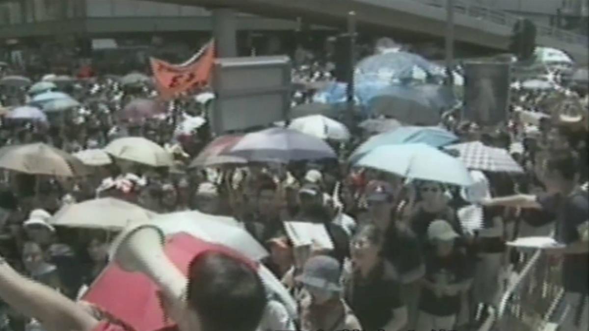香港回歸22年 爆發6次大規模抗議