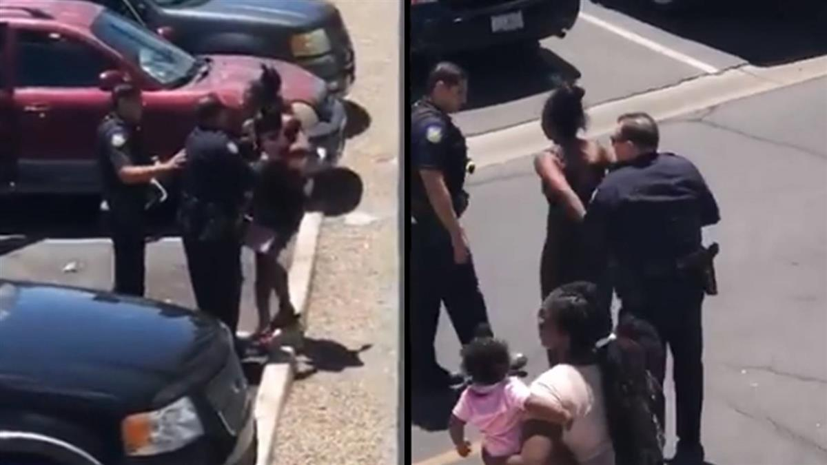 4歲童偷洋娃娃 警掏槍飆髒話逮捕父母