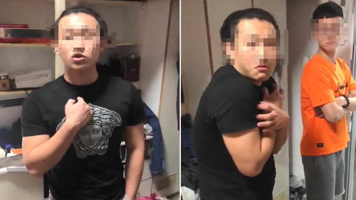 髮箍男嗆娘娘腔遭肉搜!69秒影曝光 他火速道歉