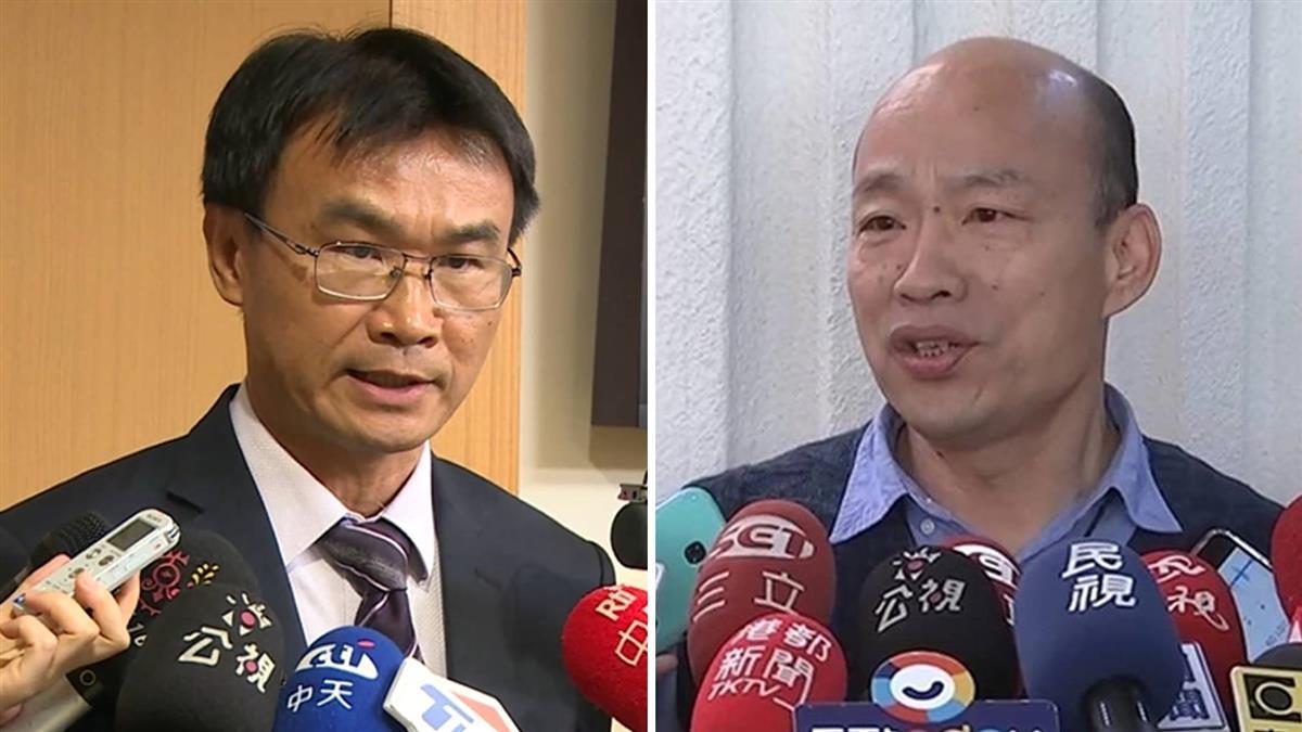 韓國瑜批禁用巴拉刈 陳吉仲:劇毒險害父挖眼睛