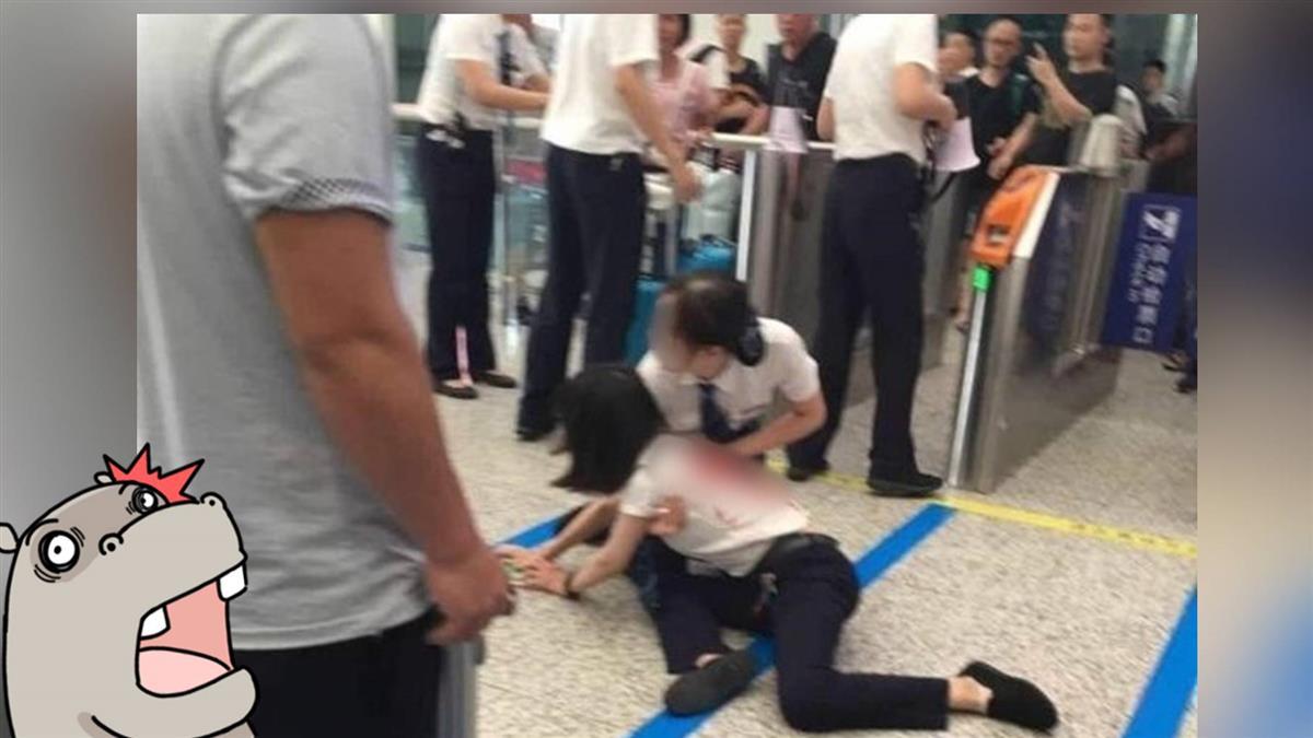 趕不上火車!23歲女狠捅工作人員…血流倒地