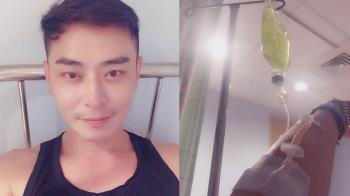 46歲陳冠霖驚傳病倒送醫!病況曝光令人憂心