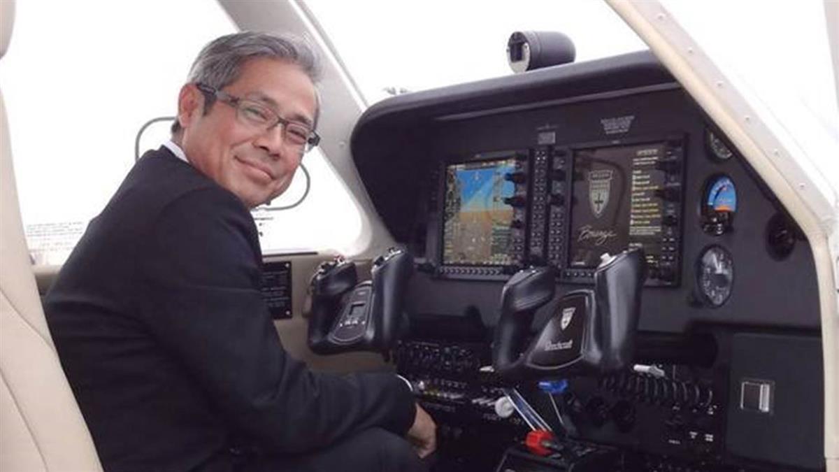 飛特立航空董座楊宿智 驚傳在美墜機亡