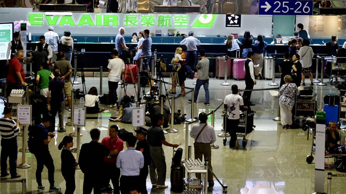 長榮空服罷工首日 旅客人潮逐漸紓解